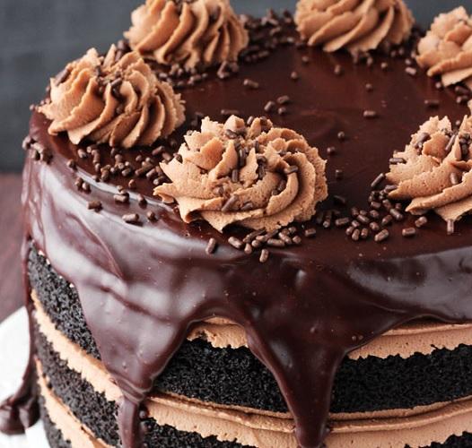 طرز تهیه کیک نوتلا