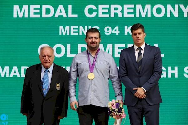 سعید محمدپور: سهراب در دنیای وزنه برداری مشابه ندارد