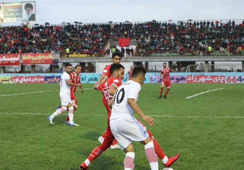 لیگ برتر فوتبال، کار بزرگ سپیدرود در اهواز با برتری برابر فولاد
