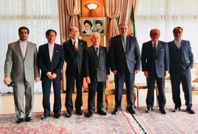 تاکید رحمانی موحد بر تقویت و توسعه همکاری های فرهنگی میان ایران و ژاپن