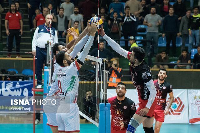 پیروزی تهرانی ها در هفته سیزدهم لیگ برتر والیبال