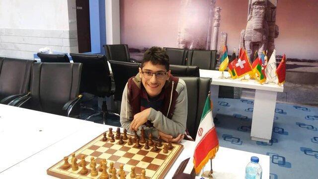 سرانجام شطرنج قهرمان کشور با قهرمانی فیروزجا