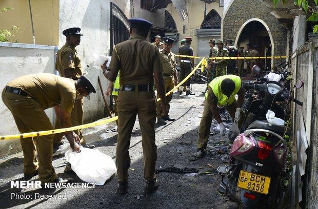 خنثی شدن حمله انتحاری به چهارمین هتل در سریلانکا