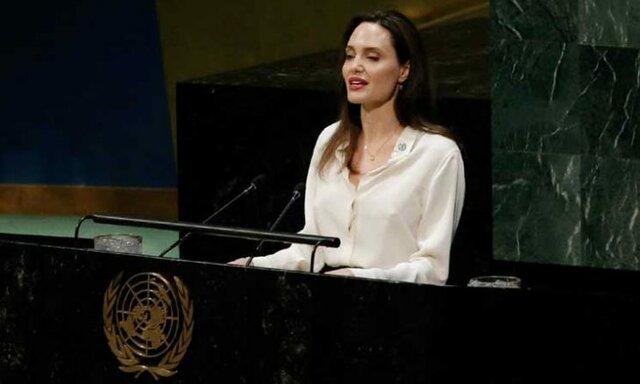 آنجلینا جولی خواستار مشارکت زنان در مذاکرات صلح افغان شد