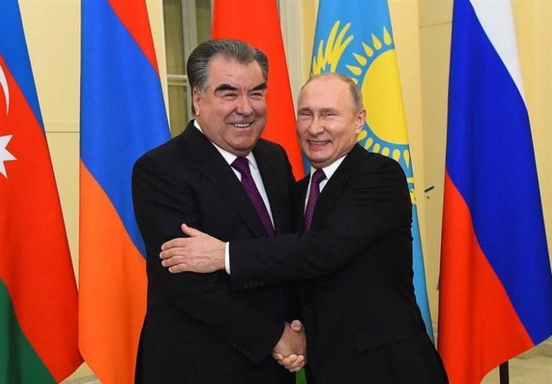 سفر رئیس جمهور تاجیکستان به روسیه