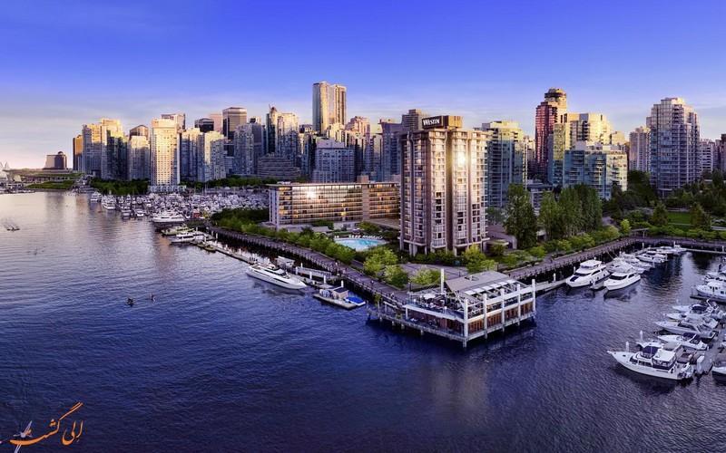 معرفی هتل 4 ستاره وستین بای شور ونکوور کانادا