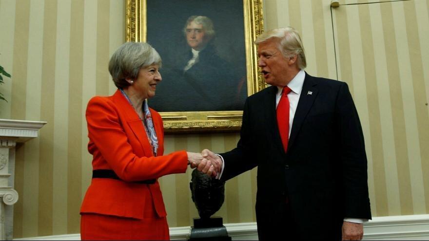 ترامپ خواهان خروج بدون توافق انگلیس از اتحادیه اروپا شد
