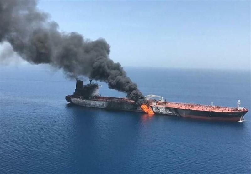 جزئیات انفجار امروز 2 نفتکش در دریای عمان به فاصله 1ساعت، تایوان و سنگاپور مقصد نفتکش ها بود