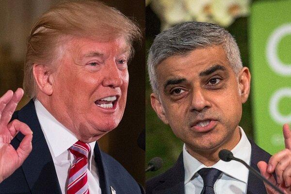 حمله شدید شهردار لندن به ترامپ: او شبیه رهبران نازی هاست