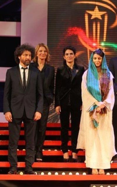 لیلا حاتمی با ظاهر متفاوت در مراکش