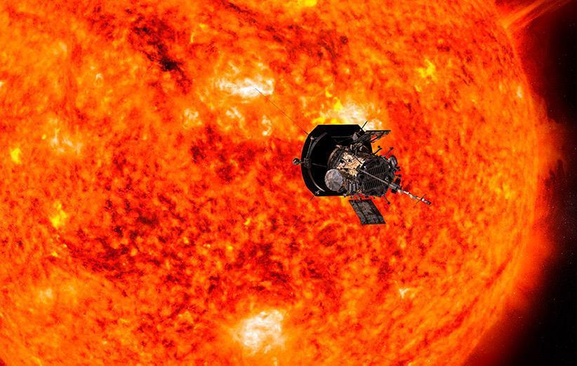 سومین ملاقات نزدیک فضاپیمای پارکر با خورشید