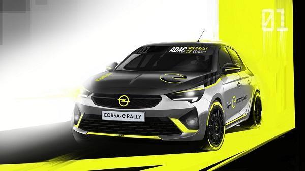 خودرو Opel Corsa-e، اولین اتومبیل الکتریکی مسابقات رالی