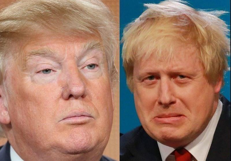 ترامپ: جانسون می تواند بریتانیا را از اتحادیه اروپا خارج کند