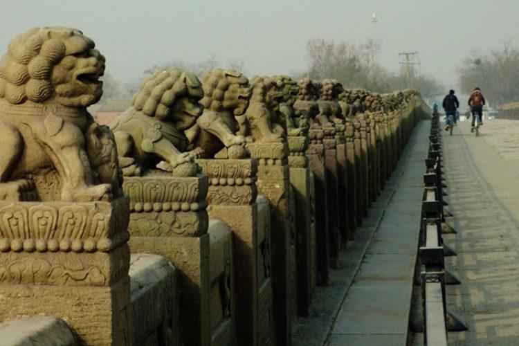 پل افسانه ای مارکوپولو در پکن