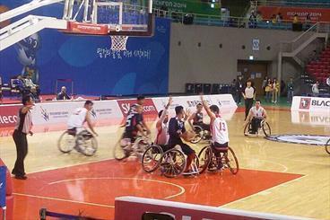 تیم ملی بسکتبال با ویلچر مقابل هنگ کنگ پیروز شد