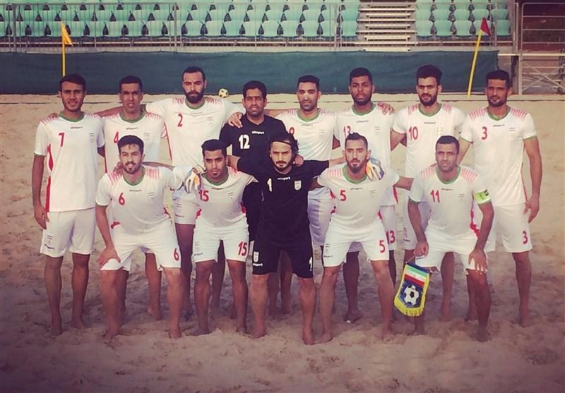 پیروزی تیم فوتبال ساحلی ایران مقابل عمان در دیدار محبت آمیز
