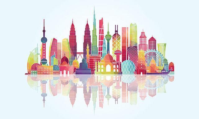 تغییر راستا ثروت از اروپا و آمریکا به آسیا