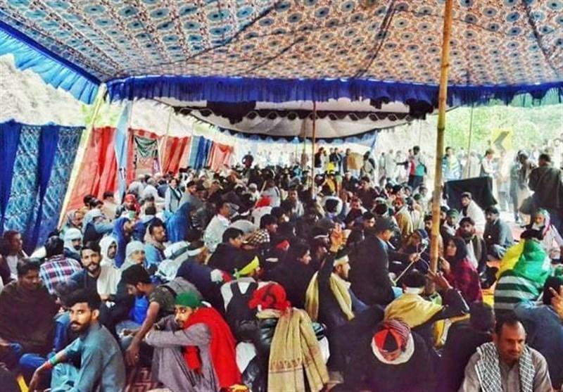نخست وزیر منطقه آزاد کشمیر خواهان سرانجام تحصن معترضین در مرز با هند شد