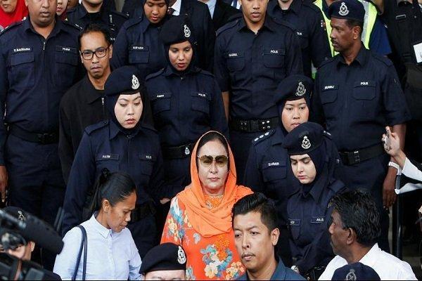 همسر نخست وزیر سابق مالزی بازداشت شد