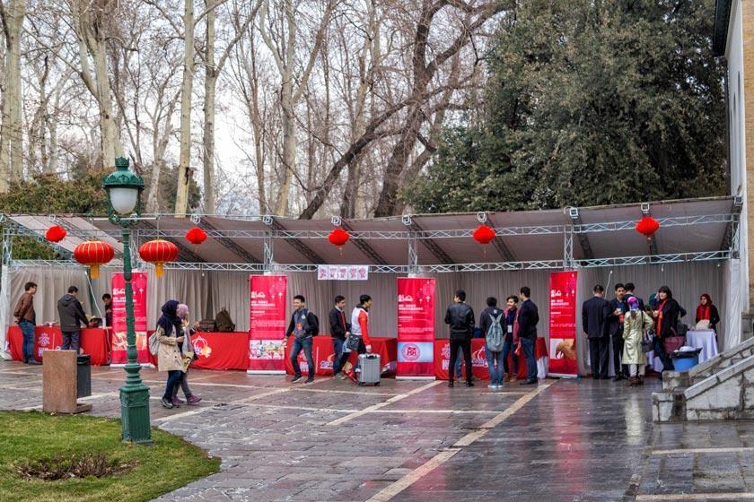 جشنواره عید بهار چین در کاخ نیاوران