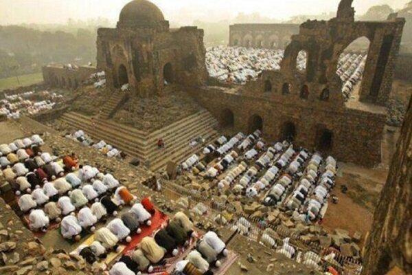 معبد هندوها در محل مسجد بابری هند ساخته می گردد