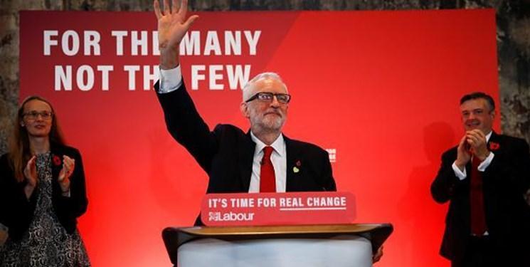 شروع کمپین تبلیغاتی حزب کارگر انگلیس با سخنان تند علیه جانسون و ترامپ