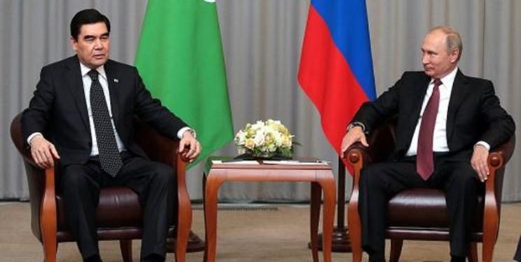 دیدار روسای جمهور ترکمنستان و روسیه؛ دریای خزر محور مذاکرات
