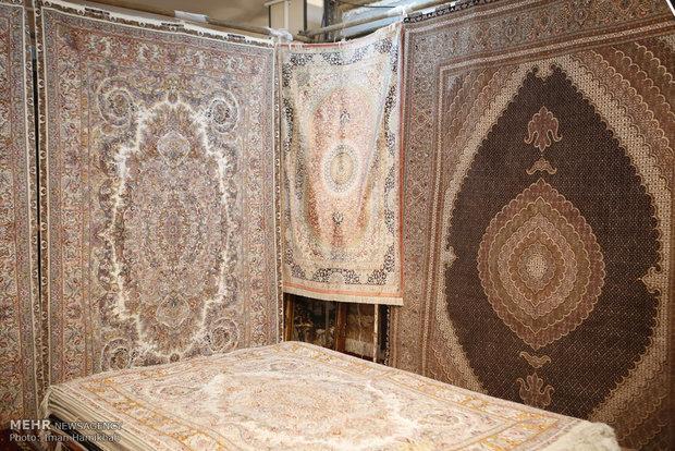 روند رشد صادرات فرش استان زنجان از سال گذشته شروع شده است