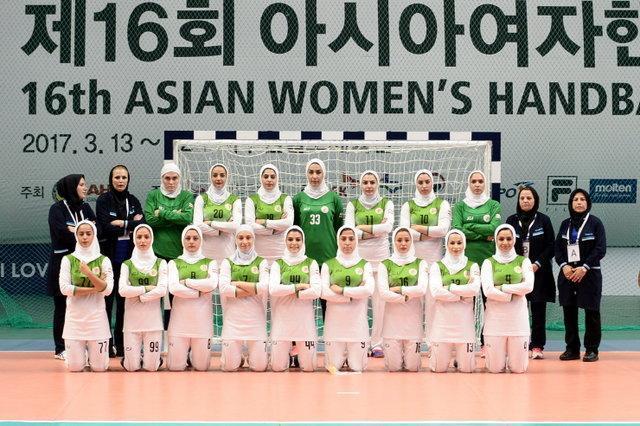شکست تیم ملی هندبال ایران برابر میزبان در مسابقات آسیایی کره