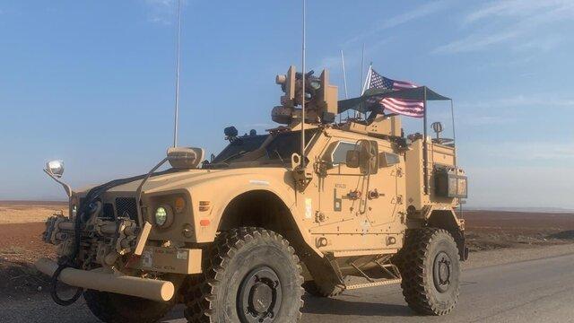 کاروان آمریکایی از اقلیم کردستان عراق وارد سوریه شد