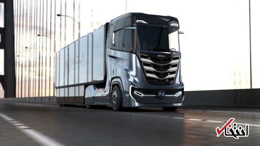 رقیب تسلا نخستین کامیون هیدروژنی خود را معرفی کرد