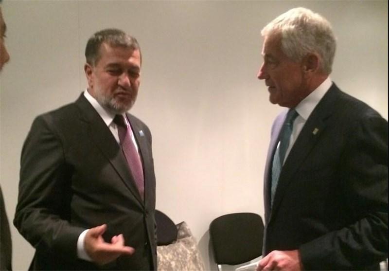 ملاقات وزرای دفاع آمریکا و افغانستان در حاشیه نشست ناتو درولز
