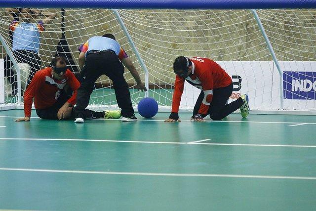 اولین پیروزی گلبالیست های ایران در قهرمانی آسیا
