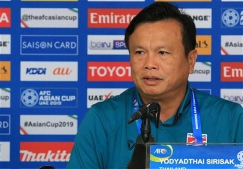 سرمربی تایلند: بعضی بازیکنان چین مرا نگران می نمایند، امیدوار به صعود هستیم
