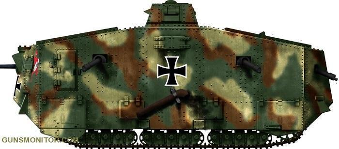 تنها تانک آلمانی جنگ جهانی اول! (