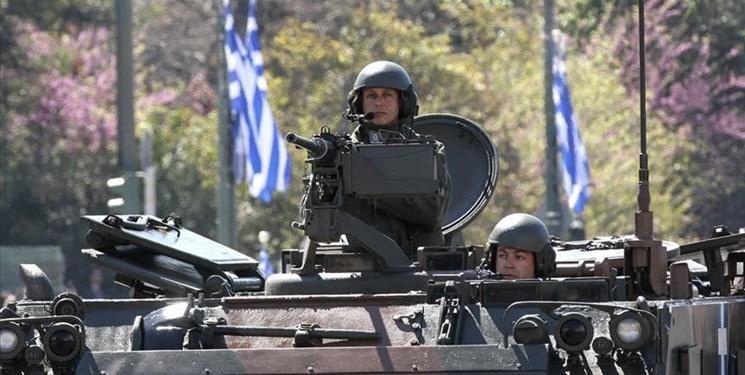 یونان در مرز با ترکیه رزمایش نظامی برگزار می نماید