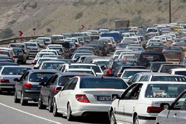 ترافیک محور هراز تا پیست آبعلی سنگین است