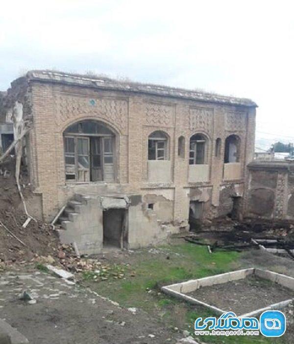 آغاز بازسازی بنای قاجاری 15 سال بعد از ثبت