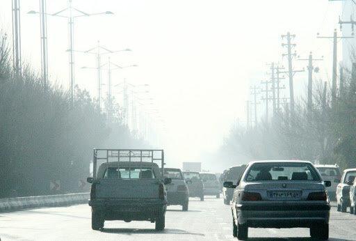 هوای 4 شهر یزد در شرایط ناسالم