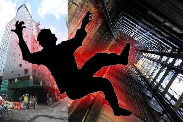 سقوط مرگبار زن بابلی از طبقه پنجم ساختمان