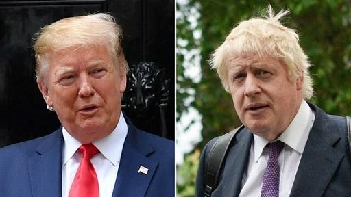 ترامپ نخست وزیر انگلیس را بر سر هوآوی تهدید نموده است