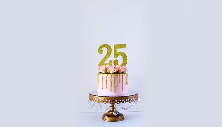 متن تولد 25 سالگی ؛ تبریک ربع قرن زندگی، به خودتان و یا دوستان