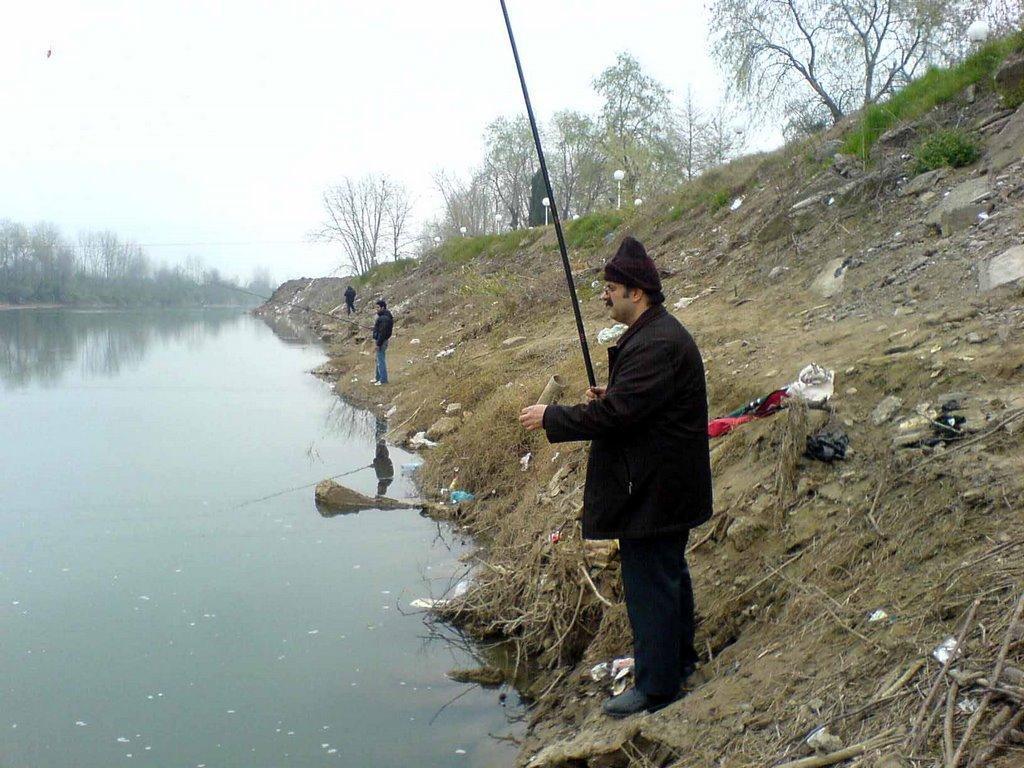بهترین محل های ماهیگیری در گیلان