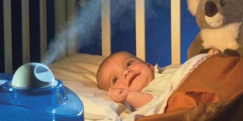 فواید و طریقه استفاده از دستگاه بخور برای نوزادان