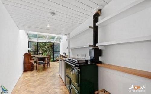 باریک ترین خانه جهان در لندن، عکس