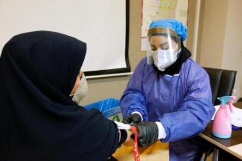 غربالگری بانوان باردار به همت گروه جهادگران سلامت دانشگاه علوم پزشکی زاهدان خبرنگاران