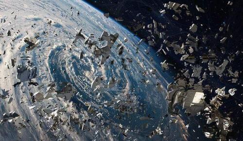 تلسکوپی که زباله های فضایی چند میلیمتری را نشان می دهد