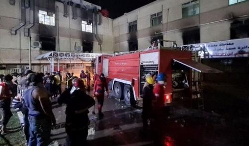 افزایش کشته های انفجار در بیمارستان بغداد به 82 نفر