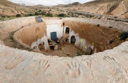 تونس؛ کشوری با خانه های زیرزمینی چند صد ساله، تصاویر