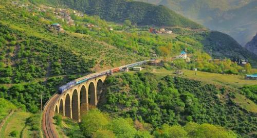 راه آهن سراسری ایران ثبت جهانی شد